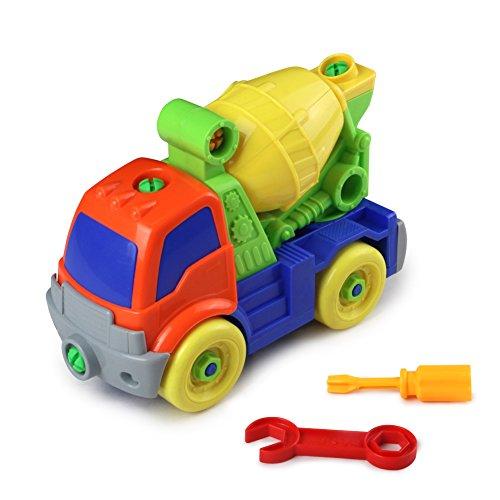 Dibang Baufahrzeuge Spielzeug Set Schraubenspiel Montage ...
