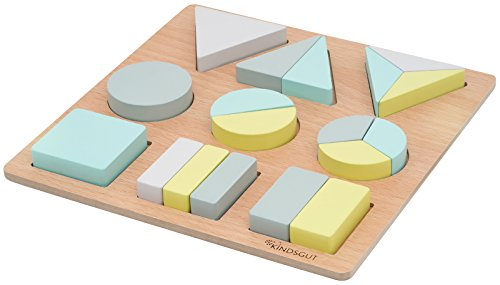 Kindsgut holzpuzzle motorik spielzeug puzzle mit formen