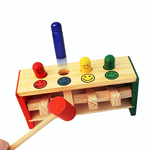 klopfbank hammerspiel holz hammerbank fr he p dagogische klopfen spielzeuge f r kleinkinder. Black Bedroom Furniture Sets. Home Design Ideas