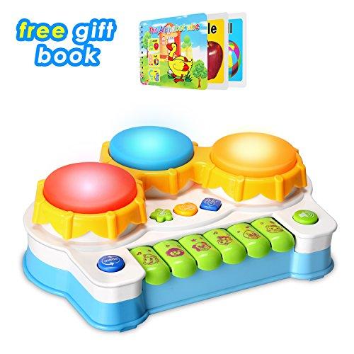 baby spielzeug schlagzeug klavier spielt tastatur kleinkind musikinstrument lernen und. Black Bedroom Furniture Sets. Home Design Ideas