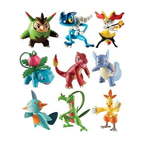 Pokémonfiguren 3 Er Set Assortiment Pokémon T18524 Hikog