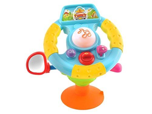 lenkrad babyspielzeug motorik lernspielzeug auto motorikspiel mit sound 2967 hikog. Black Bedroom Furniture Sets. Home Design Ideas