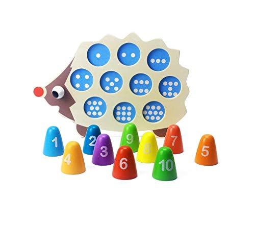 spielend Motorik, Zahlen und Farben Lernen Montessori ...
